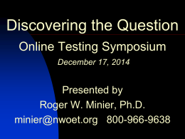 Discover the Question - Testing Symposium Dec 17 v1-7
