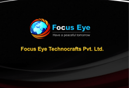 Focus Eye Technocrafts Pvt. Ltd.