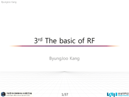 The basic of RF