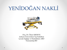 YEN*DO*AN TRANSPORTU - Doç. Dr. Ömer ERDEVE