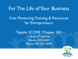 For The Life of Your Business: