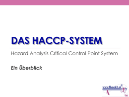haccp - Flypoint