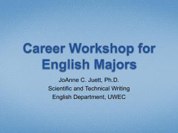 English Careers