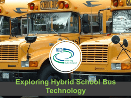 Introduction to Hybrid Buses