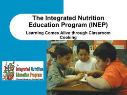 Integrated Nutrition Powerpoint