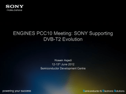 SONY_DVB-T2_Evolution_Product_Support