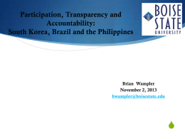 Lessons from comparative research on public participation