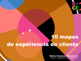 Descargar el documento (ppt) - Radical Customer Experience