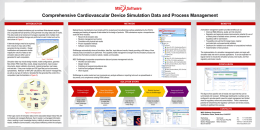 Simulation Data & Process Management for FDA