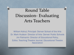 Leadership Committee - Arts Schools Network