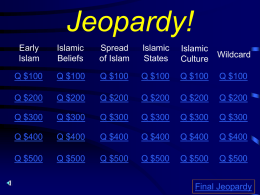 Jeopardy - JDaley.net