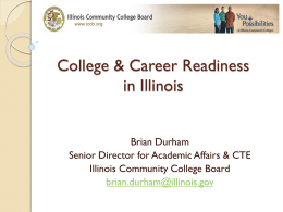 College and Career Readiness Session