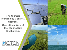 Technical support for transformational mitigation actions