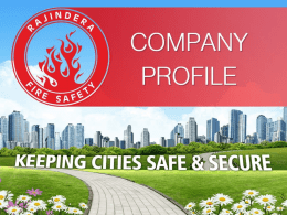 Our VISION - Rajindera Fire Safety