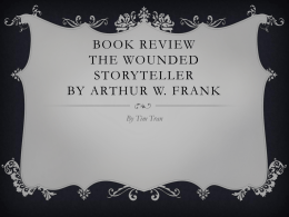 Book review The Wounded Storyteller by Arthur