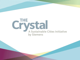 The Crystal - Workplace Futures Conference