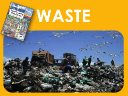 Waste presentation - City of Cape Town