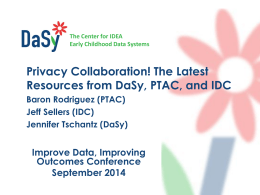 Privacy Collaboration! The Latest Resources