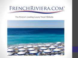 FrenchRiviera.com Media Kit 032212