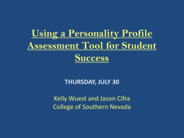 nacte - College of Southern Nevada