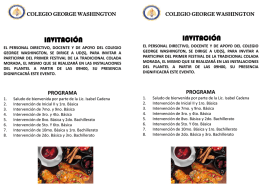 Diapositiva 1 - Colegio George Washington
