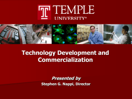 Technology Development and Commercialization