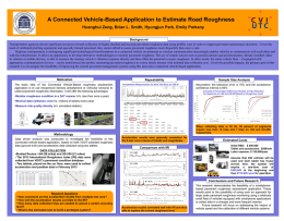 2014 CVI-UTC Poster- Pavement Assessment