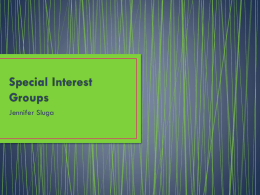 Special-Interest-Groups