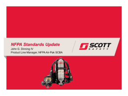 Scott Safety`s PowerPoint presentation on the 2013 NFPA