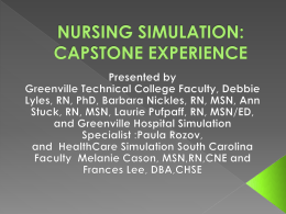 2nd Annual HCSSC Symposium presentation(Barbara)