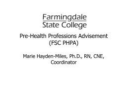 PowerPoint - Farmingdale State College