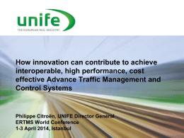 ADVANCED TRAFFIC MANAGEMENT AND CONTROL SYSTEMS