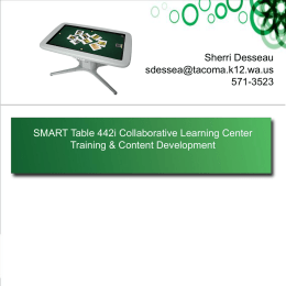 SMART Table Training File_Tech Camp