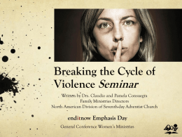 Breaking the Cycle of Violence - ppt