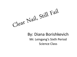Clear Nail, Still Fail