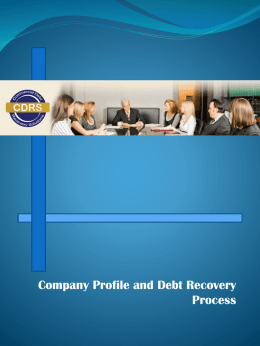 our flyer-PDF - Commercial Debt Recovery Solutions