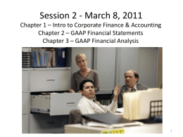 CPCU 540 Session 2 Chapters 1 2 3