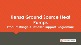 File - Kensa Heat Pumps