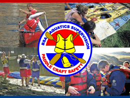 Paddle Craft Safety PowerPoint