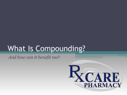 Compounding PPT