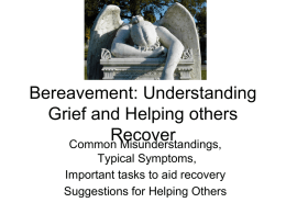 Bereavement Powerpoint