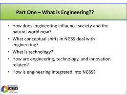 Engineering in NGSS Powerpoint () - 4-H
