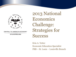 Econ Challenge Strategies for Success