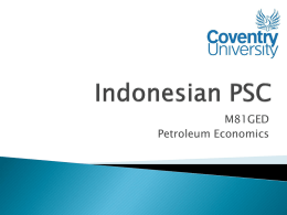 Indonesian PSC - WordPress.com