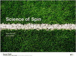 How Does Spin Affect the Trajectory of a Kicked Soccer Ball?