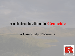 Genocide in the 20th Century