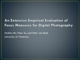slides - University of Waterloo
