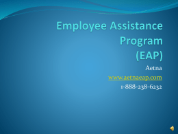 Employee Assistance Program (EAP)