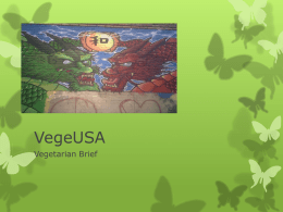 VegeUSA - National Sustainable Sales