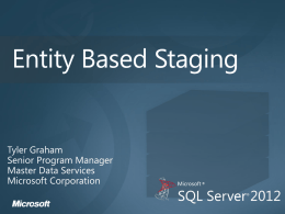 Entity_based_Staging - TechNet Gallery